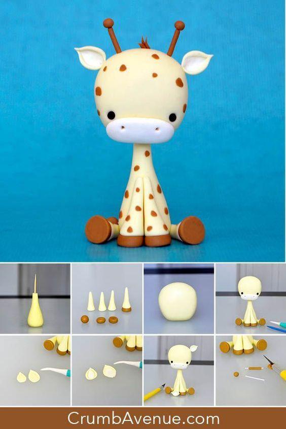 Фигуры из пластилина для детей пошагово фото
